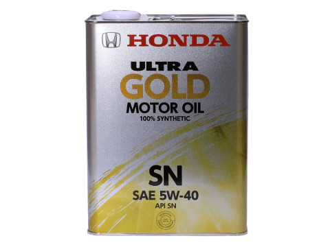 Масло моторное Honda Ultra GOLD 100% synthetic SN 5W-40 4л 08220-99974